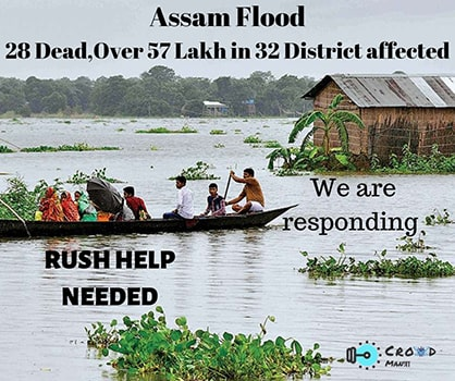 Assam needs all of your Support to survive the deadly flood